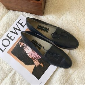Cole Haan Navy Loafers